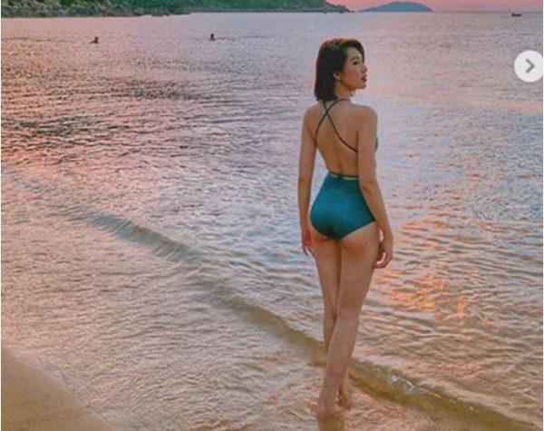 Thúy Hân trong 'Gạo nếp, gạo tẻ' thu hút người hâm mộ với bikini nóng bỏng