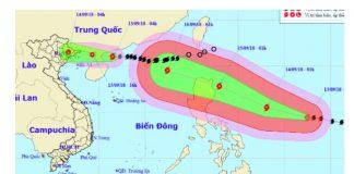 Bão số 5 gây mưa lớn, siêu bão Mangkhut tiến nhanh vào biển Đông