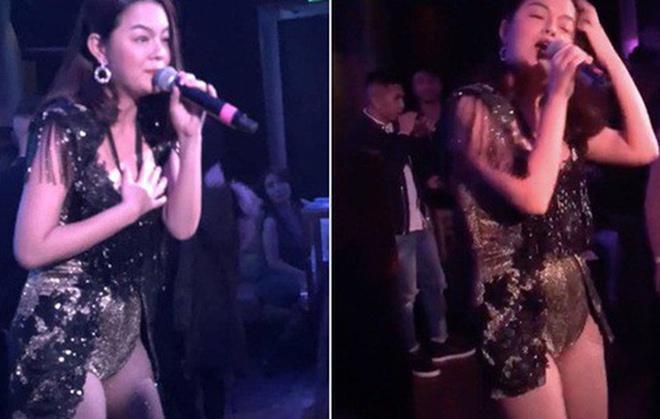 Phạm Quỳnh Anh gây bất ngờ cho fan với trang phục sexy tại Úc