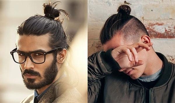 Tóc dài cột là một trong các kiểu tóc nam không bị lỗi thời