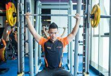 Sử dụng máy tập thể dục