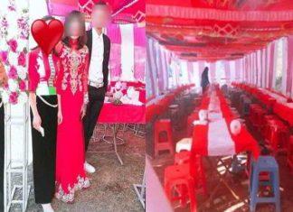 Cô dâu ôm tiền thách cưới bỏ trốn khiến chú rể nổi nóng trên mạng xã hội
