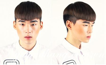 Các mẫu tóc nam mái ngố ấn tượng