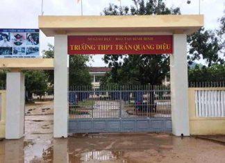 Nam sinh lớp 11 đánh thầy giáo nhập viện ở Bình Định