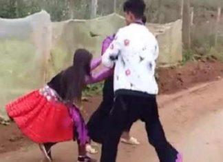 Clip 3 trai bản thi nhau bắt vợ mặc cô gái gòa khóc gây xôn xao dư luận