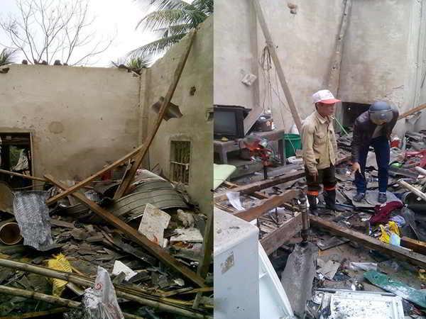 Nổ pháo khiến 5 người thương vong ở Hà Tĩnh