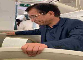 Đại gia bị tố sàm sỡ khách nữ trên máy bay