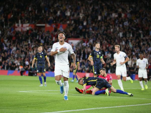 Diễn biến kịch tính trong trận thắng 5-3 của Anh trước Kosovo