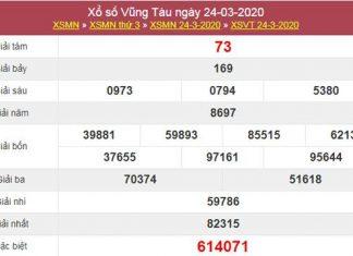Thống kê XSVT 31/3/2020 - Phân tích XS Vũng Tàu thứ 3