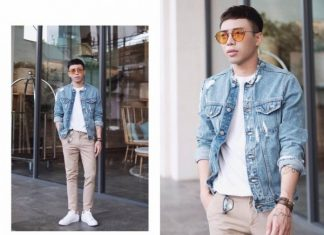 Cách phối đồ nam với quần jean và áp pull