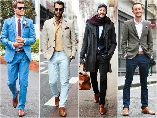 Cách phối màu quần áo nam theo màu trung tính