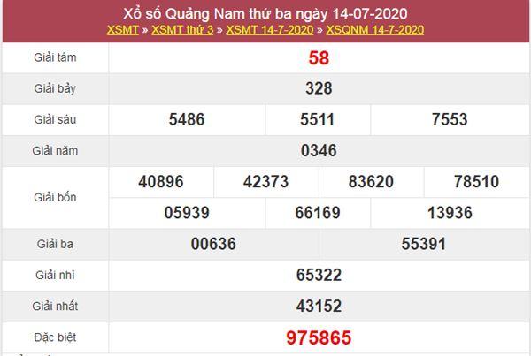 Soi cầu XSQNM 21/7/2020 VIP chốt lô cùng cao thủ