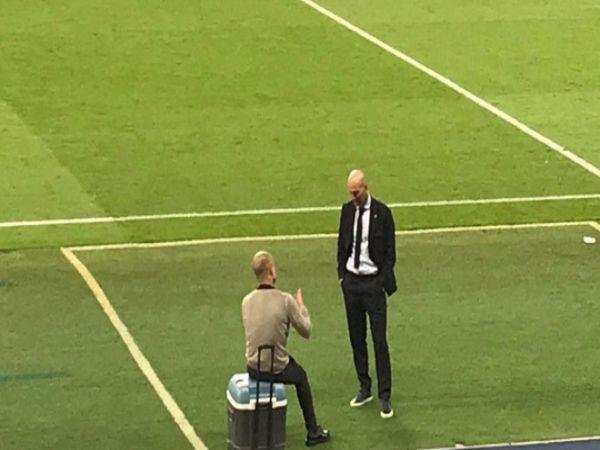 Nội dung cuộc trò chuyện giữa Pep và Zidane
