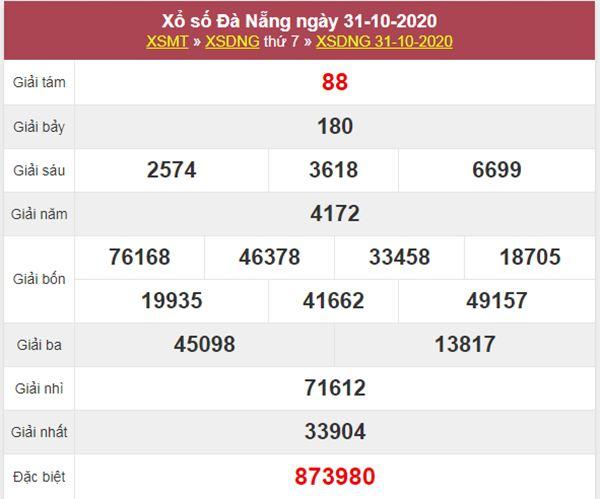Nhận định KQXS Đà Nẵng 4/11/2020 chốt XSDNG thứ 4