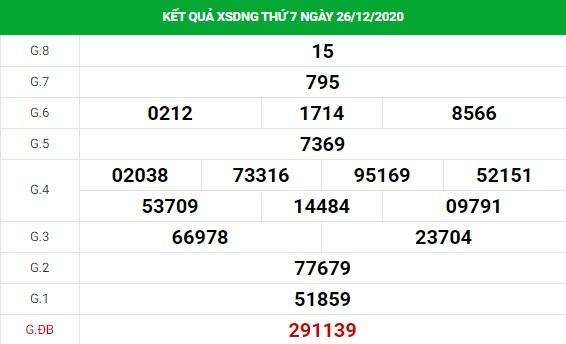 Soi cầu XS Đà Nẵng chính xác thứ 4 ngày 30/12/2020