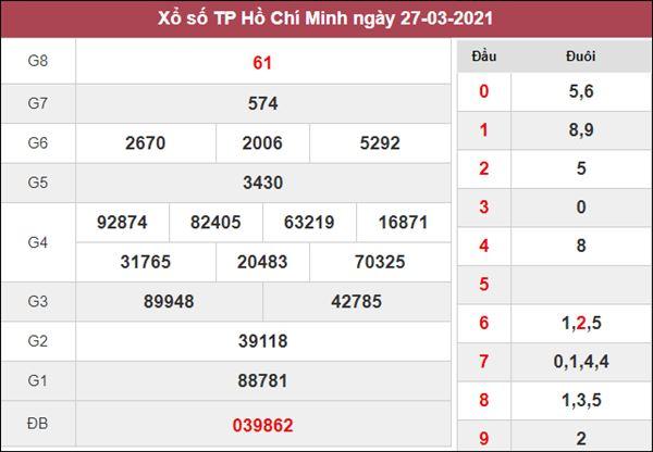 Phân tích XSHCM 29/3/2021 thứ 2 chốt lô số đẹp siêu chuẩn