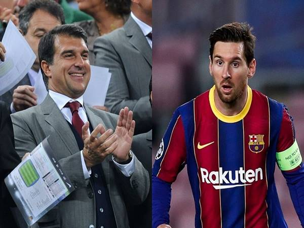 Bóng đá QT 2/6: Chủ tịch Barcelona tự tin giữ chân Messi