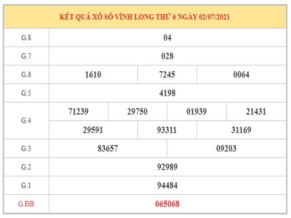 Nhận định KQXSVL ngày 9/7/2021 dựa trên kết quả kì trước