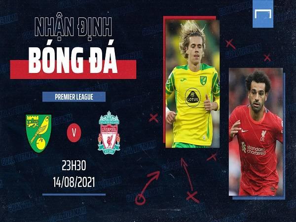 Nhận định trận Norwich City vs. Liverpool
