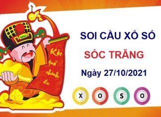 Soi cầu xổ số Sóc Trăng ngày 27/10/2021